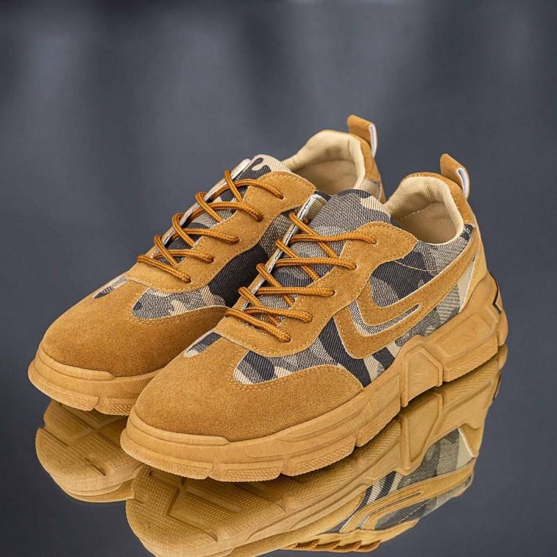 Pantofi Sport Barbati XX010 Maro deschis Mei