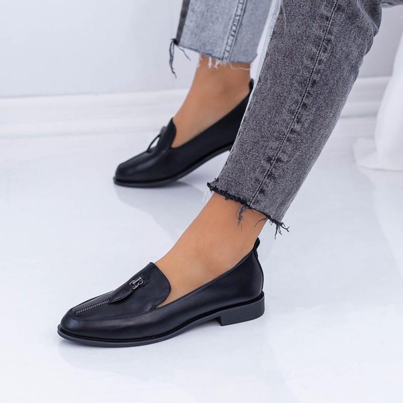 Pantofi Casual Dama XMT1B Negru Mei