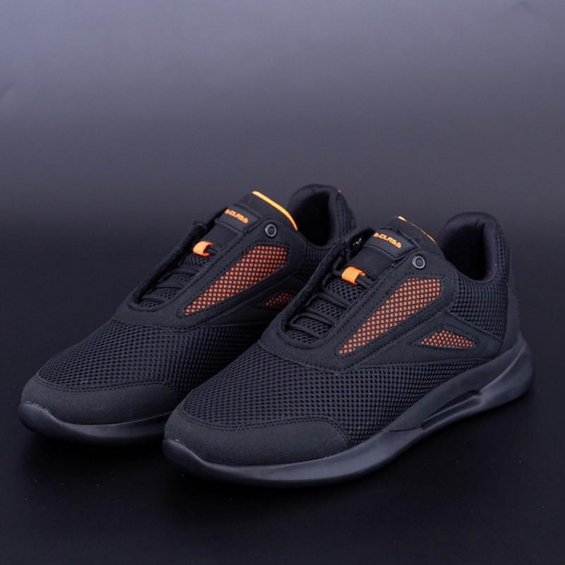 Pantofi Sport Barbati 310 Negru-Portocaliu GClass
