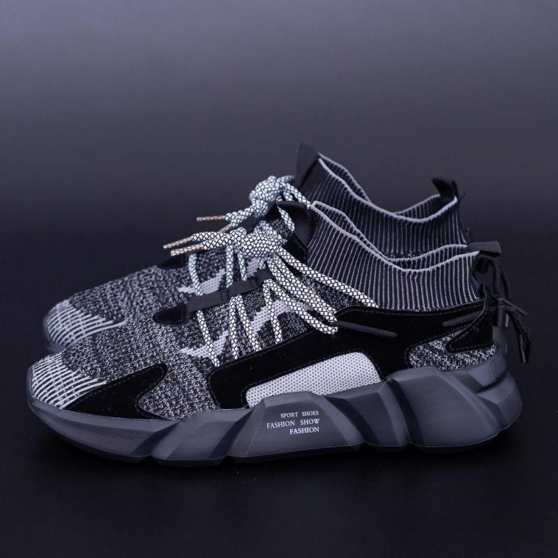 Pantofi Sport Barbati H23 Negru DCF68
