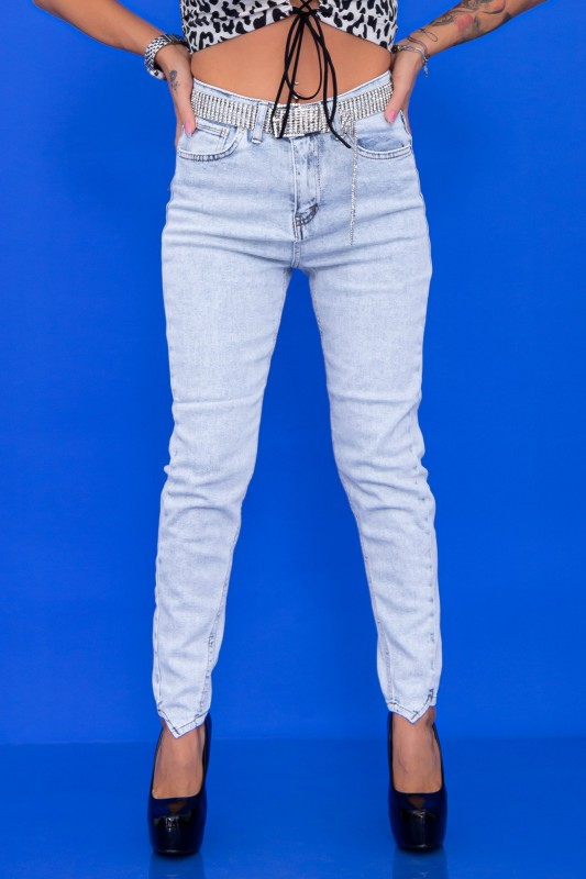 Blugi Dama 990 Albastru deschis Fashion