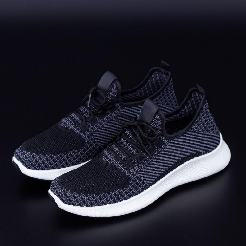 Pantofi Sport Barbati 4038 Negru Fashion