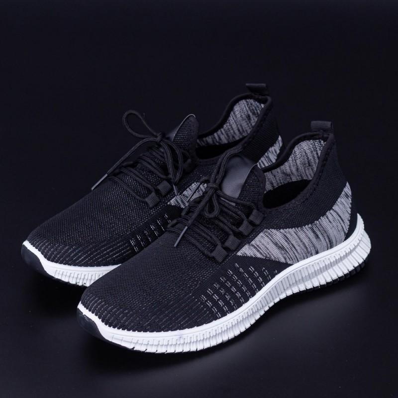 Pantofi Sport Barbati 4062 Negru Fashion