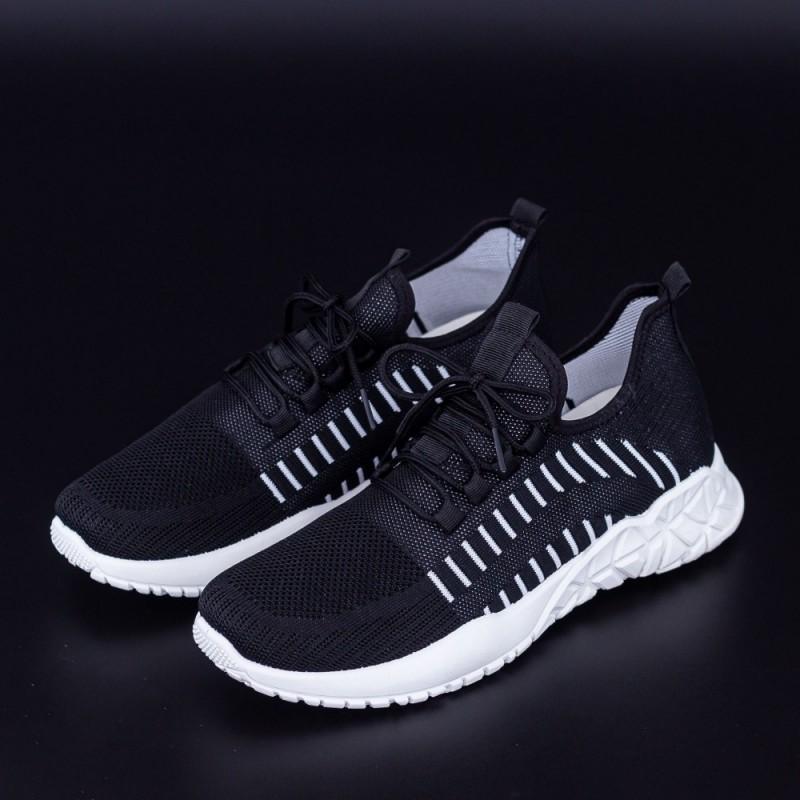 Pantofi Sport Barbati 4069 Negru Fashion
