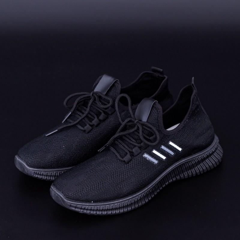 Pantofi Sport Barbati 4071 Negru Fashion