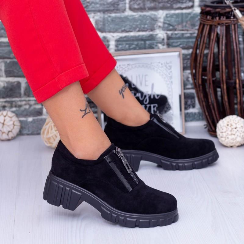 Pantofi Casual Dama OP1A Negru Mei