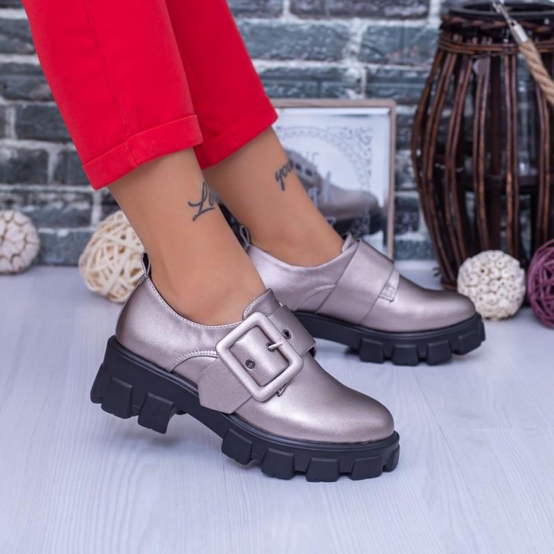 Pantofi Casual Dama DS37A Guncolor Mei