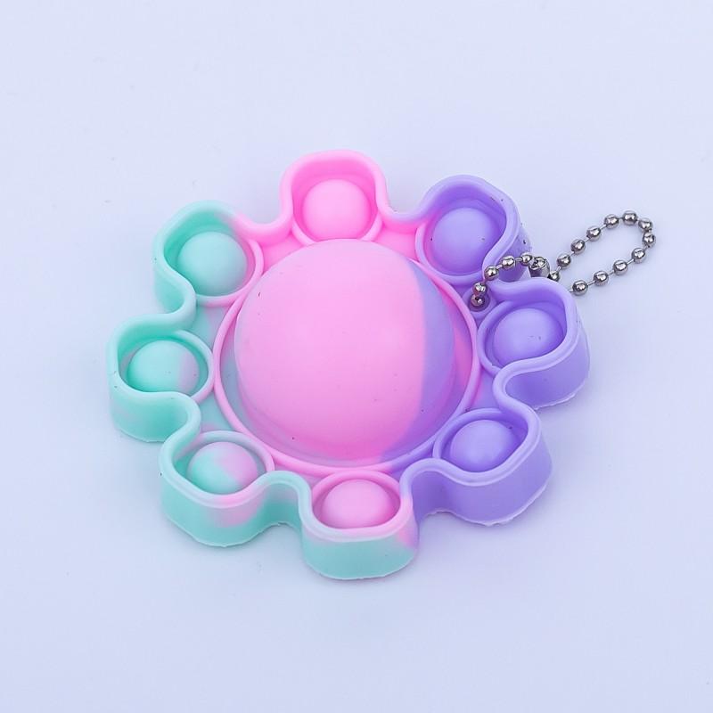Jucarie POP IT!, antistres, din silicon, multicolor, Caracatita GALA21-780 Galasun