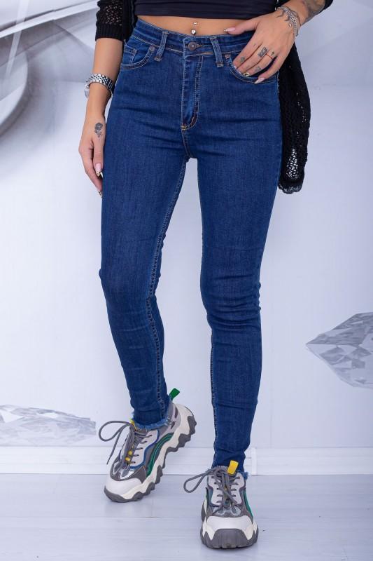 Blugi Dama 471 Albastru Fashion