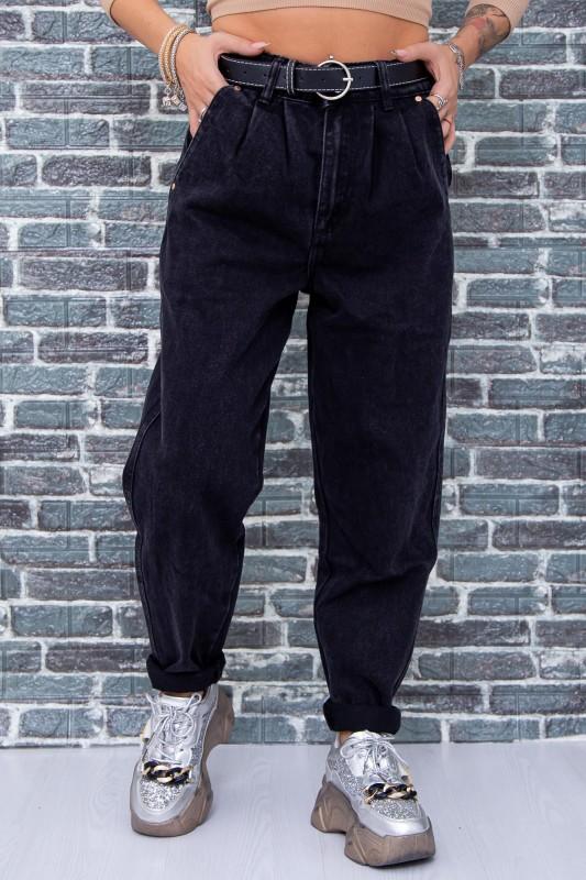 Blugi Dama H1028 Negru Fashion