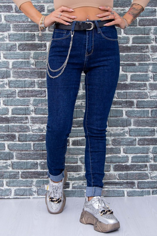 Blugi Dama M565 Bleumarin Fashion