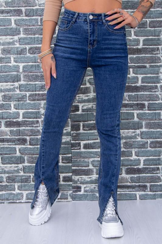 Blugi Dama F3824-2 Albastru Fashion