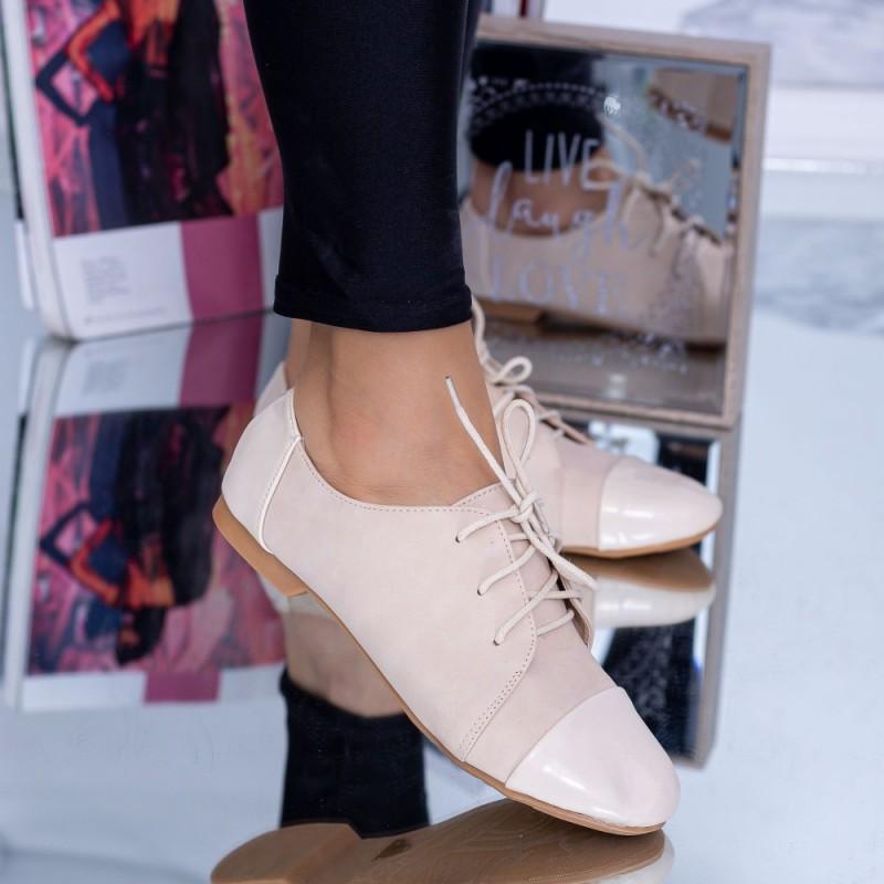 Pantofi Casual Dama 919-8 Bej Mei