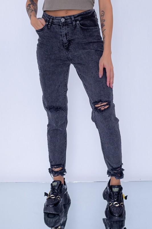 Blugi Dama 400 Negru Fashion