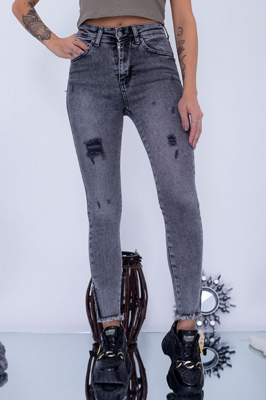Blugi Dama 240 Gri Fashion