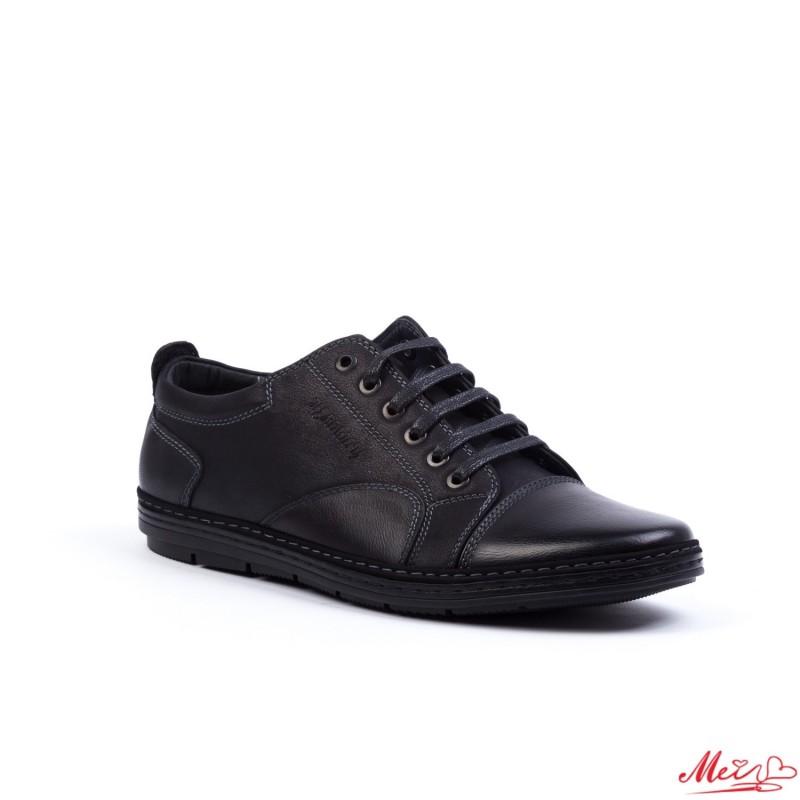Pantofi Casual Barbati 90-3A# Black Mei