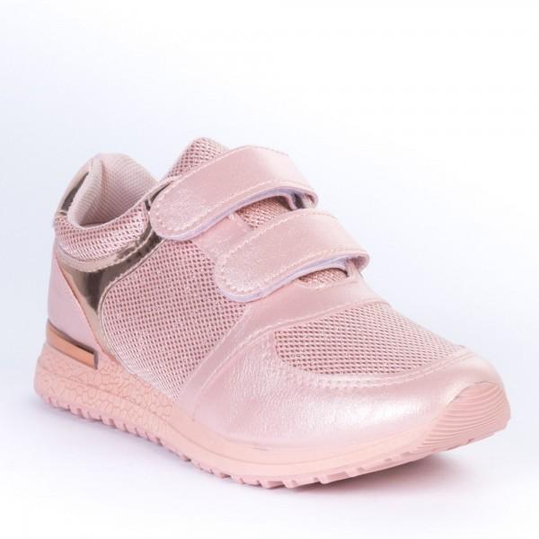 Pantofi Sport Copii JN17 Pink Print