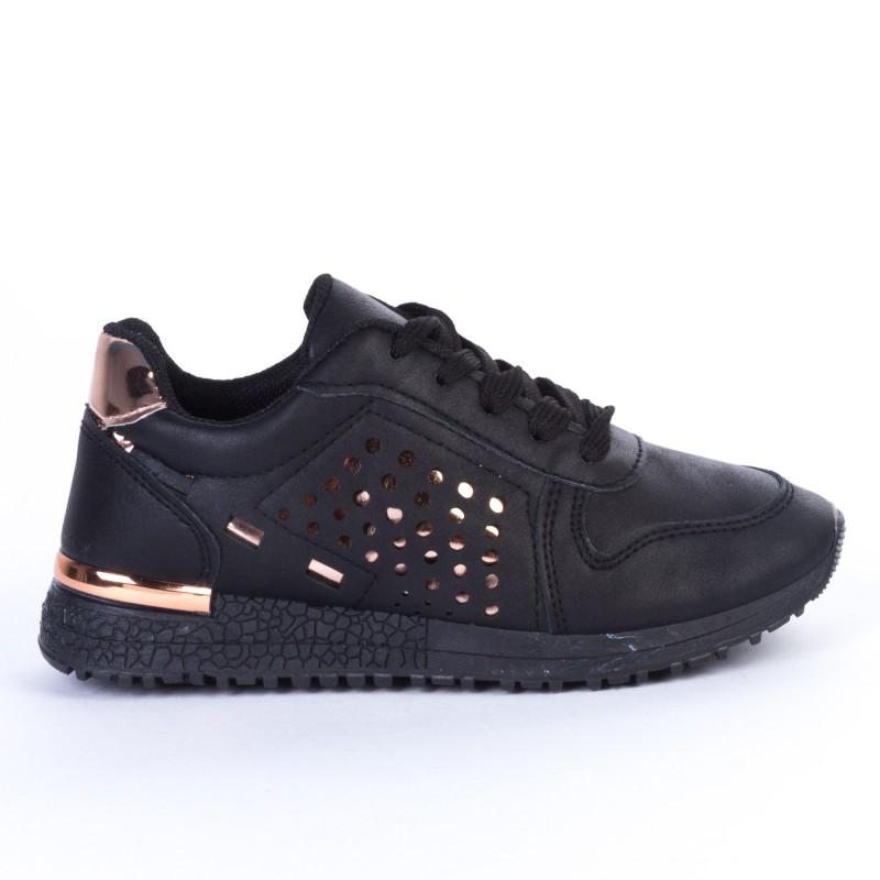 Pantofi Sport Copii JN16 Black Print