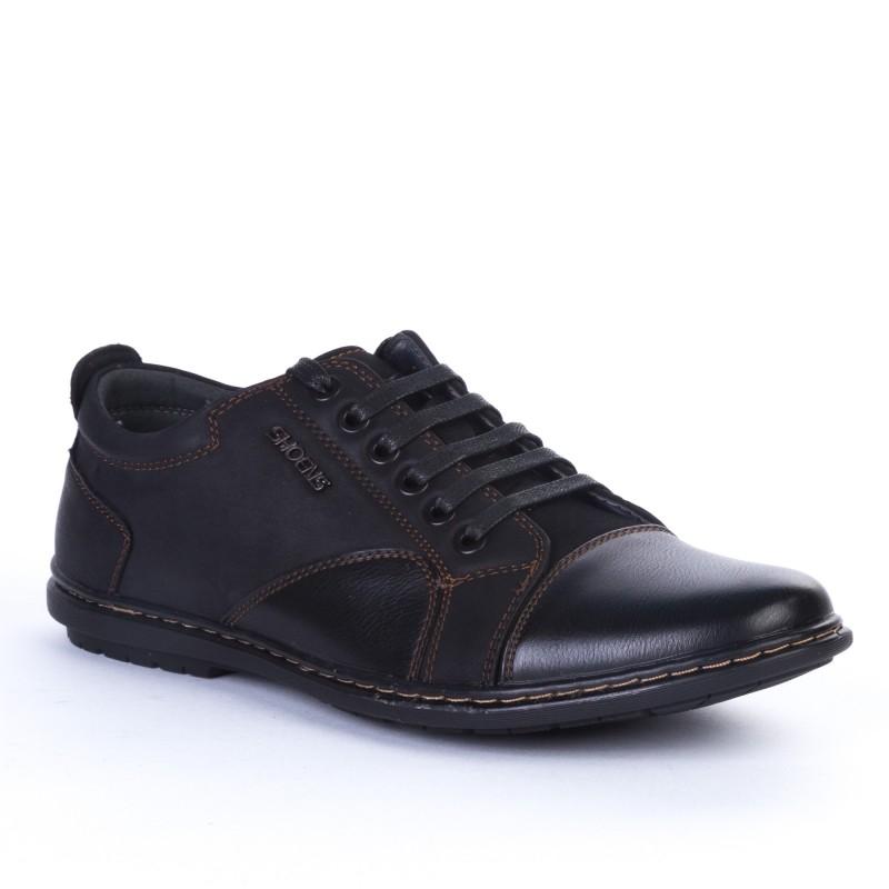 Pantofi Casual Barbati 30-1 Black Weidikabang