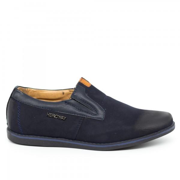 Pantofi Casual Dama T501L Blue Heroway