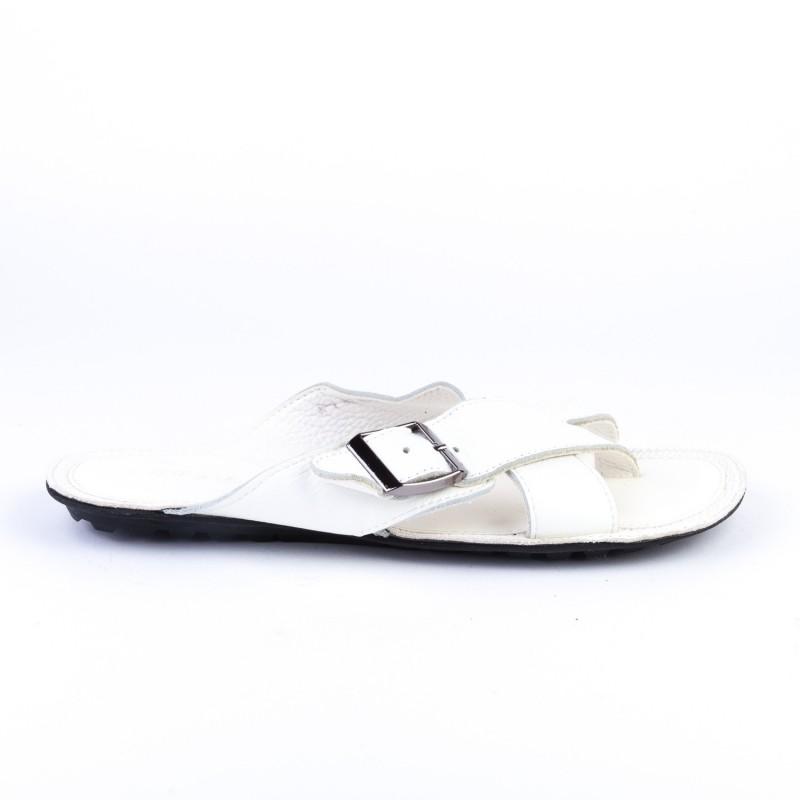 Papuci Barbati A1 White (071) Mei