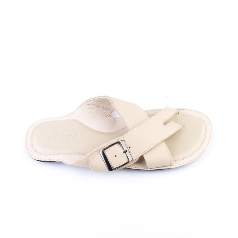 Papuci Barbati A1 Beige (071) Mei