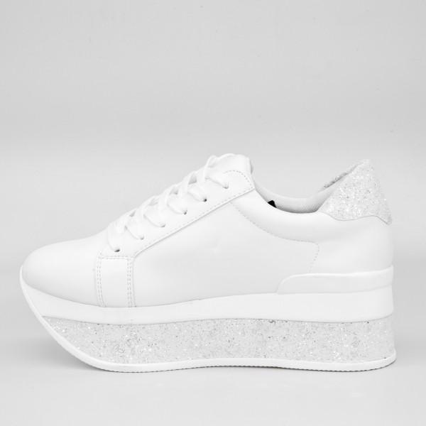 Pantofi Sport Dama cu Platforma SJN126 Black Mei