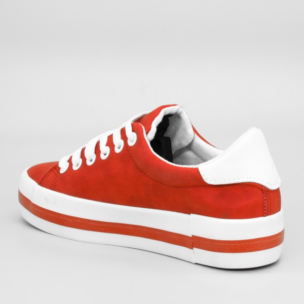 Pantofi Sport Dama cu Platforma SJN162 White Mei