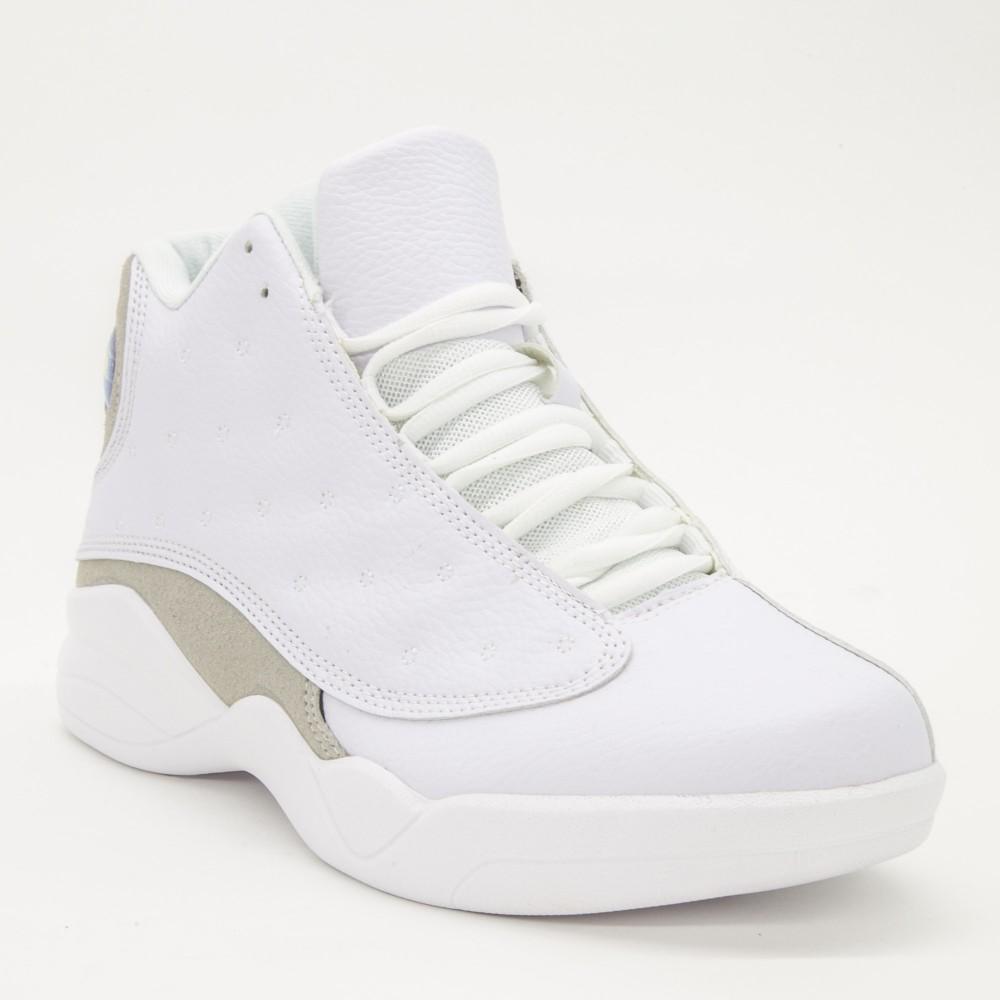 Pantofi Sport Barbati L610 White Sport Fashion