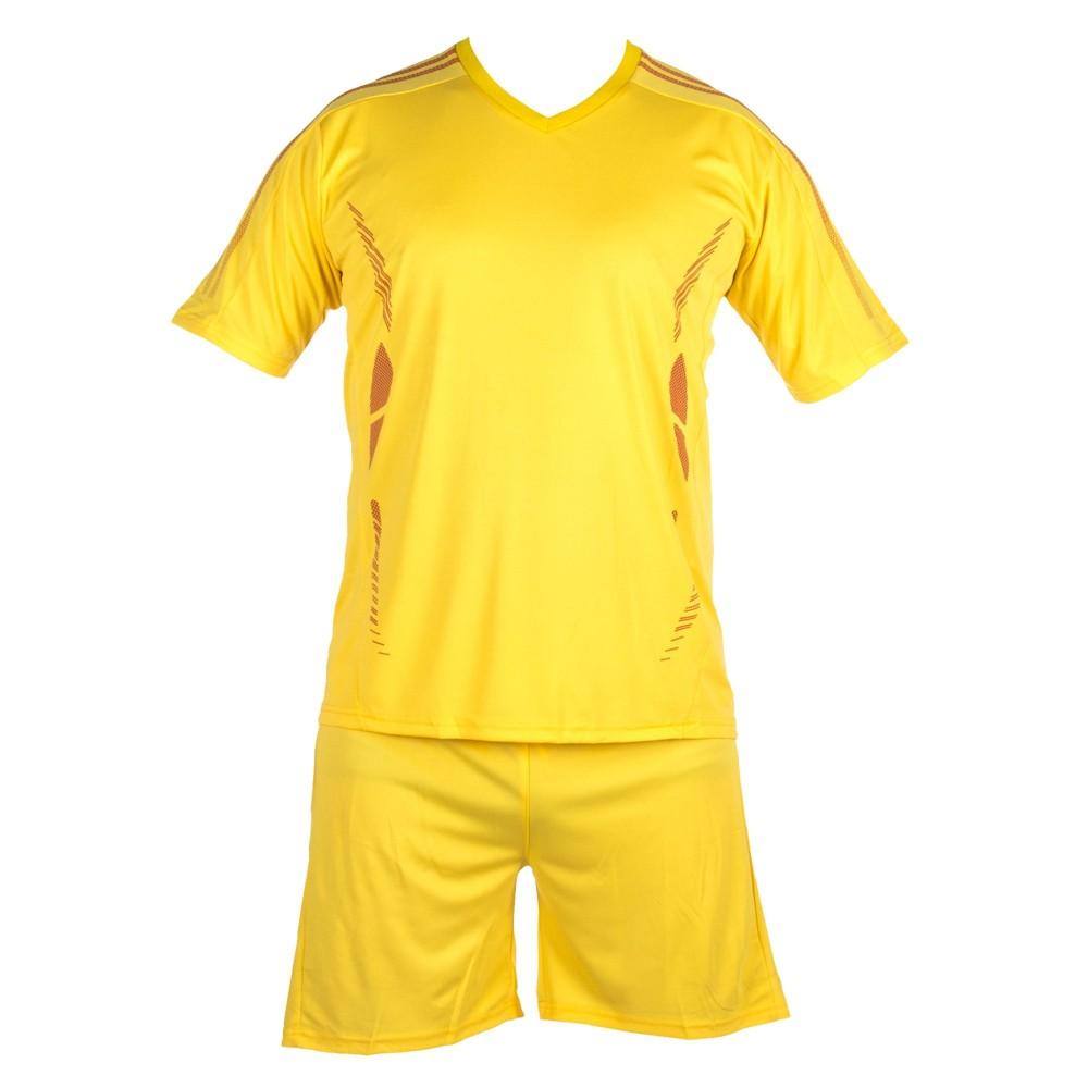 Compleu Fotbal Copii TC02 Galben Sport Wear