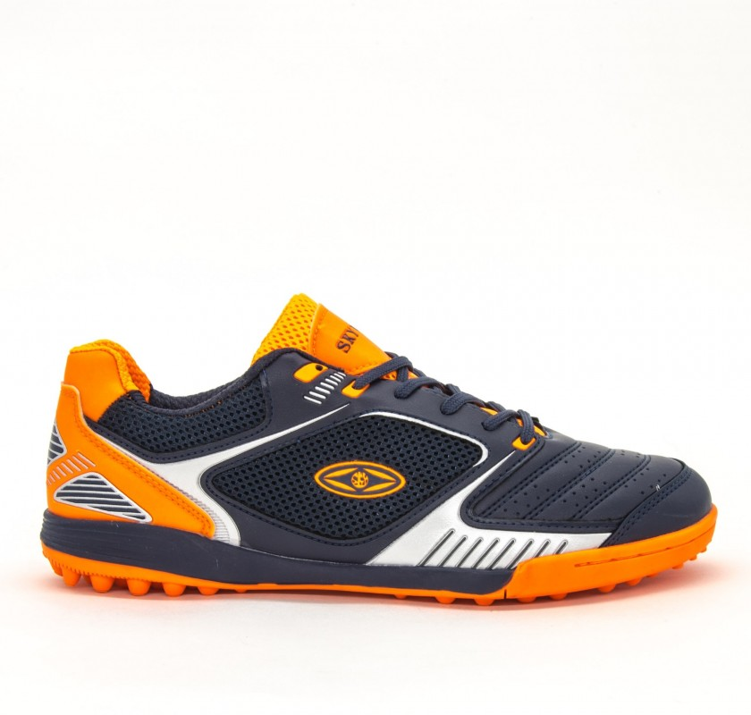 Ghete Fotbal Barbati AX8740-1 Navy-Orange Sky Wing