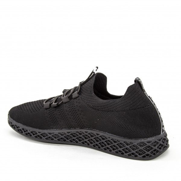 Sandale Dama cu Toc si Platforma XKK97 Black Mei