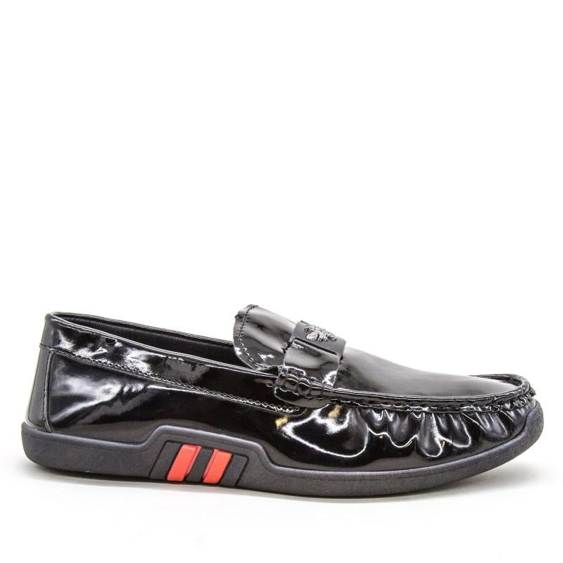 Mocasini Barbati 908-1 MCS Black Sport Fashion