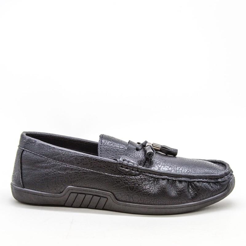 Mocasini Barbati 921-1 MCS Black Sport Fashion