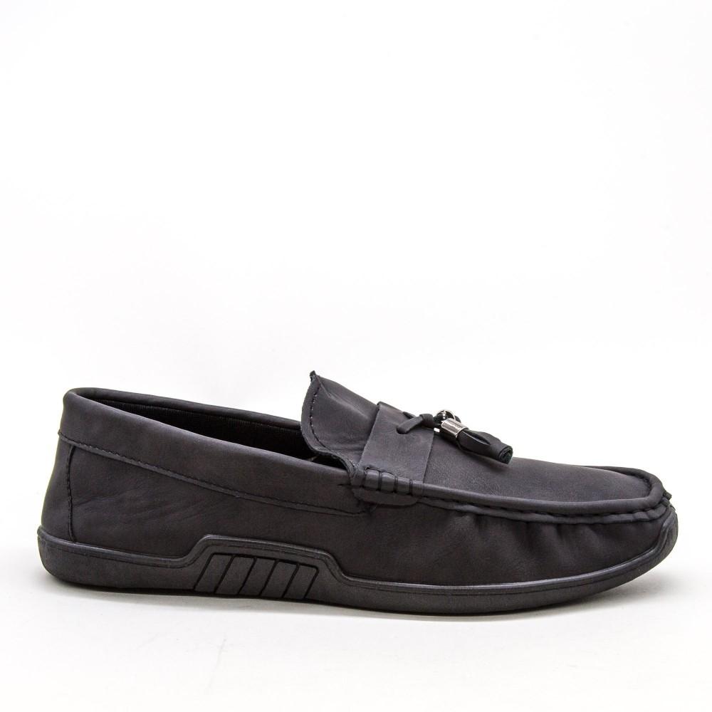 Mocasini Barbati 921-2 MCS Black Sport Fashion