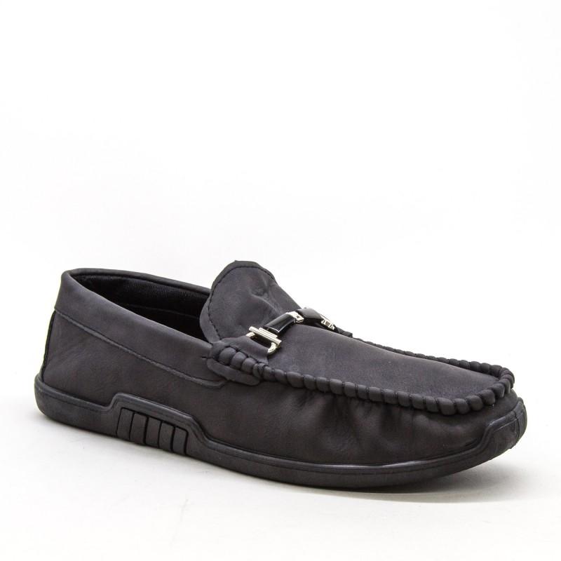 Mocasini Barbati 920-2 MCS Black Sport Fashion