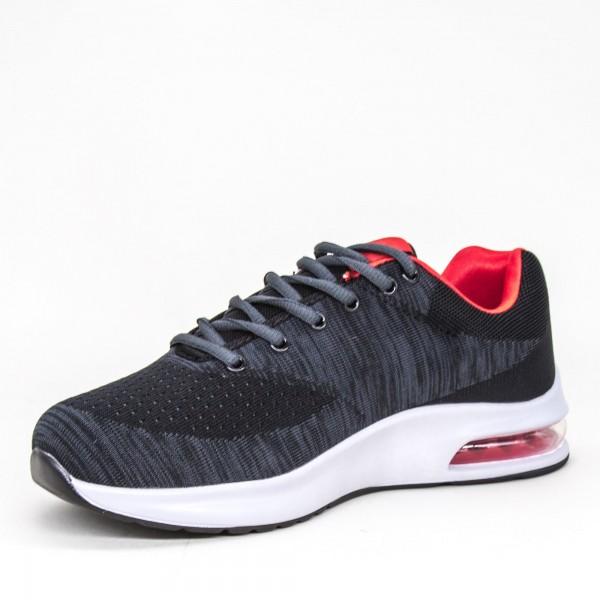 Pantofi Casual Barbati 90 3A Black Mei