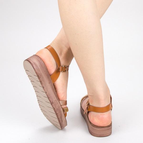 sandale dama cu platforma cs16 white 043 mei