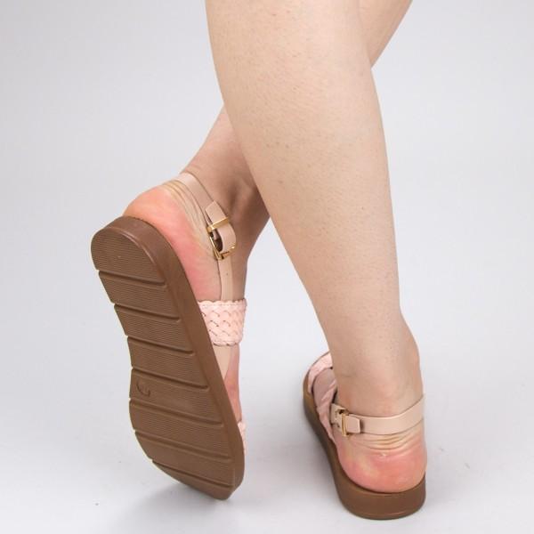 sandale cu toc si platforma gh103 silver 000 mei