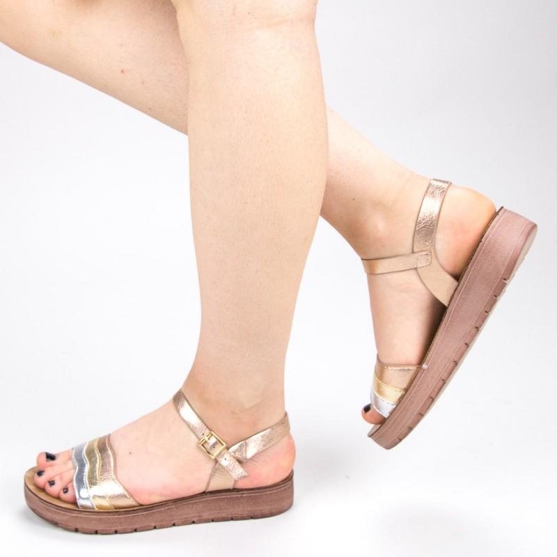 Sandale Dama CS30 Champagne Mei