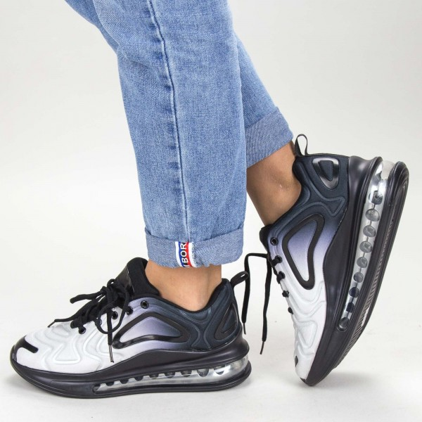 sandale cu toc si platforma lm236 01 black
