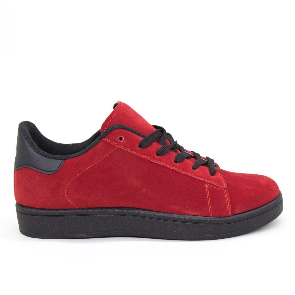 Pantofi Sport Barbati YKQ118 Red-black Mei