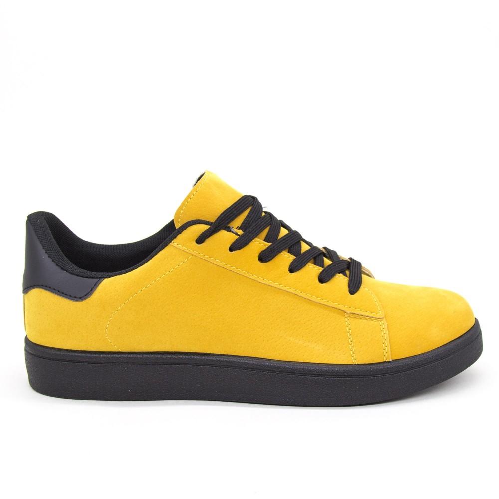 Pantofi Sport Barbati YKQ118 Yellow-black Mei