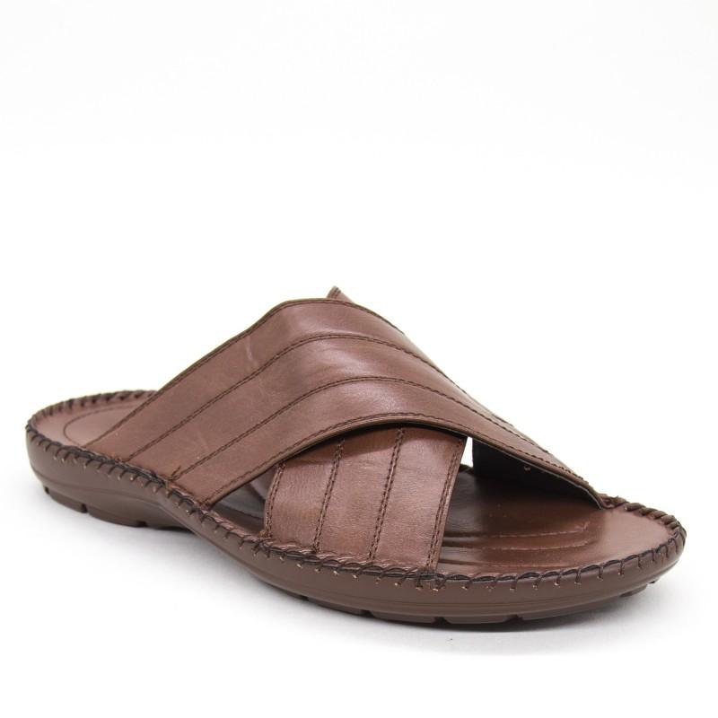 Papuci Barbati C03-8 Brown Fashion