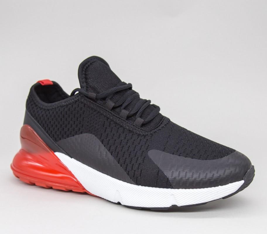 Pantofi Sport Barbati GB72A Black-red Mei