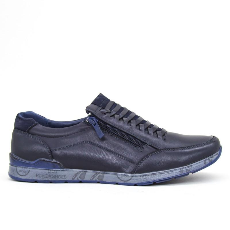 Pantofi Barbati 6A38-9 Blue Clowse