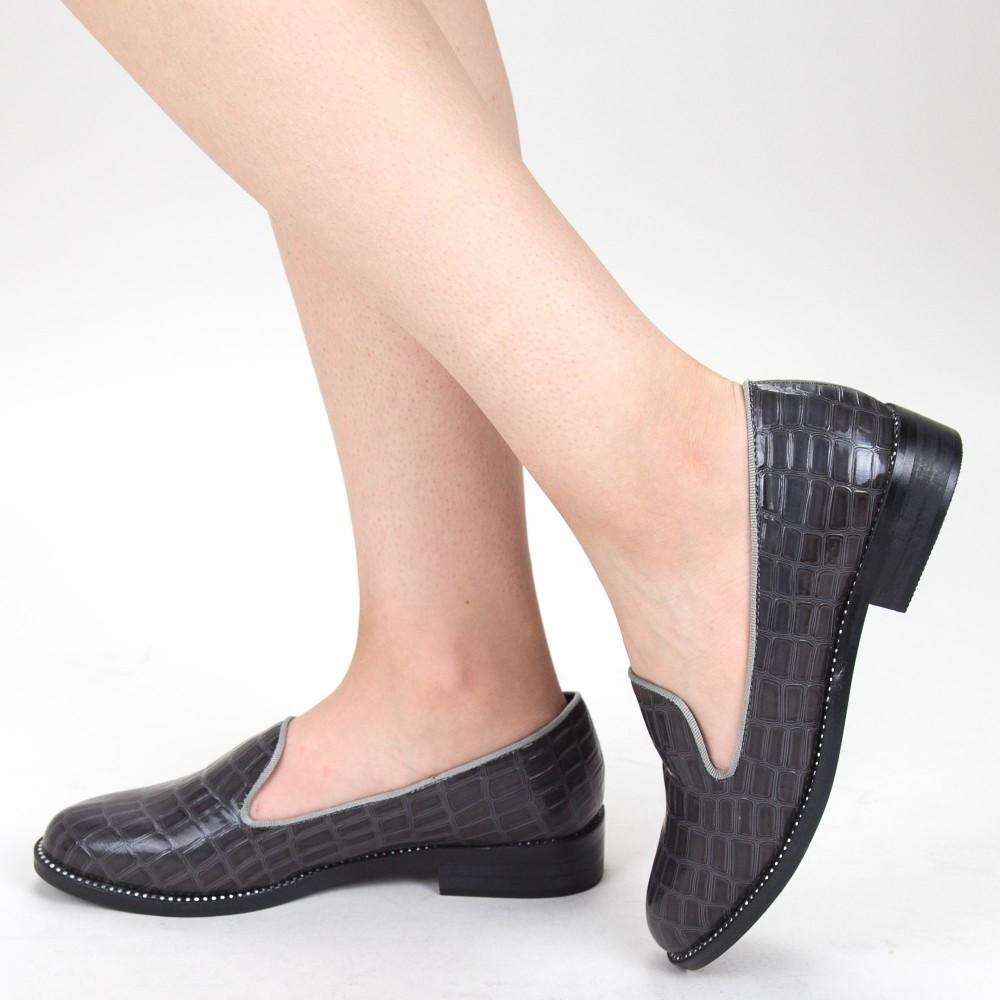 Pantofi Casual Dama GH19120 Grey Mei