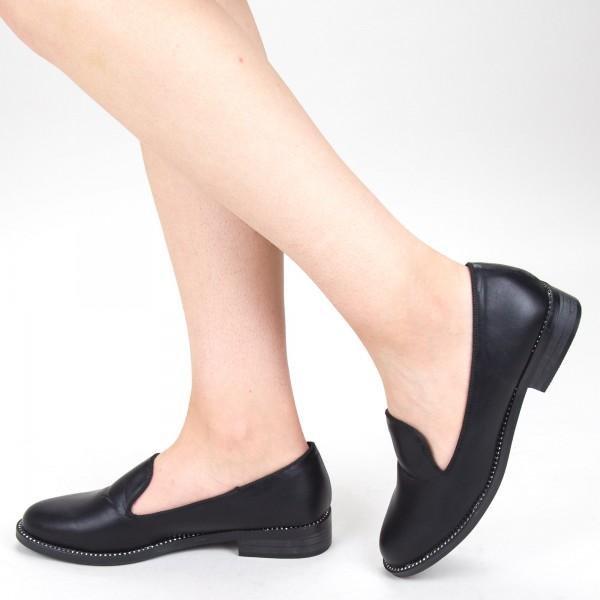 pantofi casual dama yt09 01 black