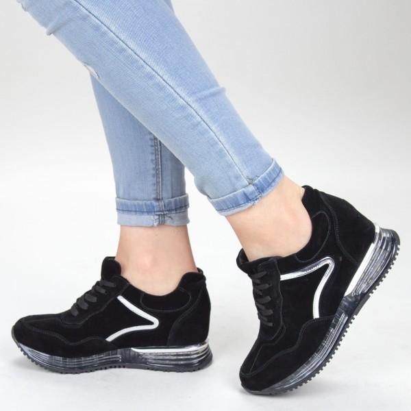 pantofi casual dama yt11a 01 black