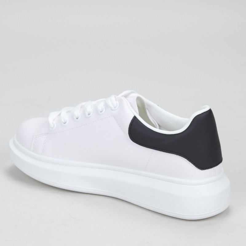Pantofi Sport Barbati YKQ165 White-black Mei